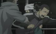 Fujyoshi tries to get to Komoto