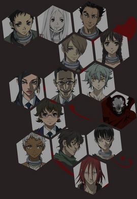 Characters map