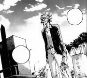 Hitara visits Yuki's grave