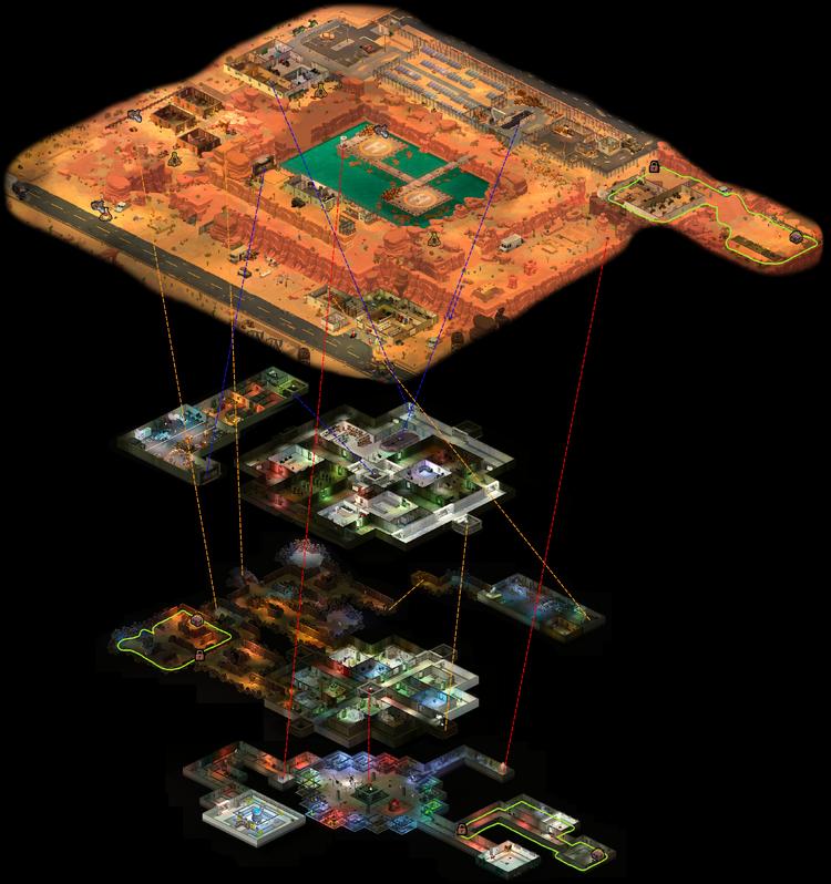 Blue Mesa map icons