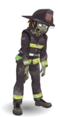 Firefighter zombie