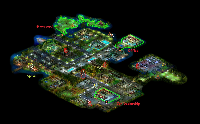 Image Downtown Santa Rosa map detailedjpg Dead Maze FANDOM
