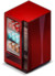 Vending machine (red)