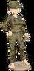 Green military set (female)