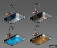 Sinks assets