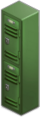 Locker (green)