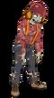 Lumberjack zombie