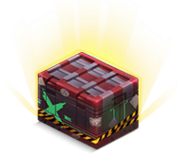 Secret passage crate