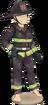 Firefighter set (female)