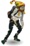Peruvian zombie