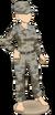 Grey military set (female)