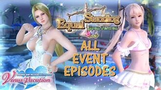 DOAXVV All event episodes of Equal standing event (English)