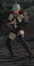 DOA5U Christie Halloween Screen