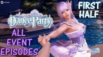DOAXVV All event episodes of Dance party -first half- (English)