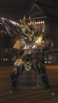 DOA5LR Samurai Warriors Costume Bayman