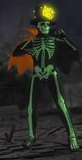 DOA5U Zack Halloween Screen