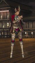 DOA5LR Samurai Warriors Costume Mila