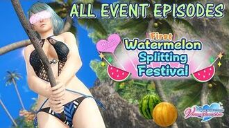 DOAXVV All event episodes of Heart-pounding! First watermelon splitting festival (English) event