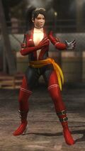 DOA5LR costume Fighter Force Momiji