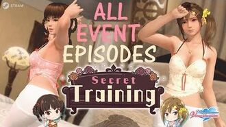 DOAXVV All event episodes of Secret training event (English)