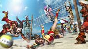 Warriors Orochi 3 - Xtreme Volleyball Wallpaper