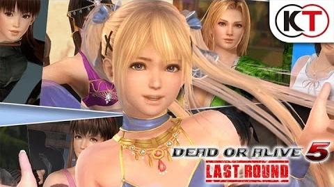 DEAD OR ALIVE 5 LAST ROUND - DESIGN AWARD COSTUMES TRAILER