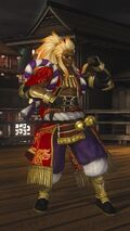 DOA5LR Samurai Warriors Costume Zack