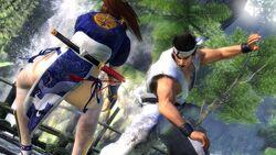 DOA5 Akira vs Kasumi