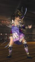 DOA5LR Samurai Warriors Costume Momiji