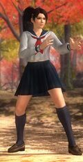 DOA5U Momiji School Screen