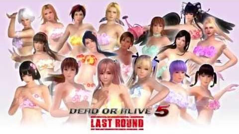 DEAD OR ALIVE 5 LAST ROUND - FLOWER SET TRAILER