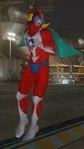 DOA5LR Tatsunoko Mashup Jann Lee Costume