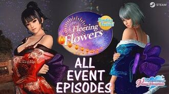 DOAXVV All event episodes of Fleeting flowers event (English)