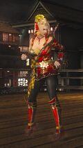 DOA5LR Samurai Warriors Costume Rachel
