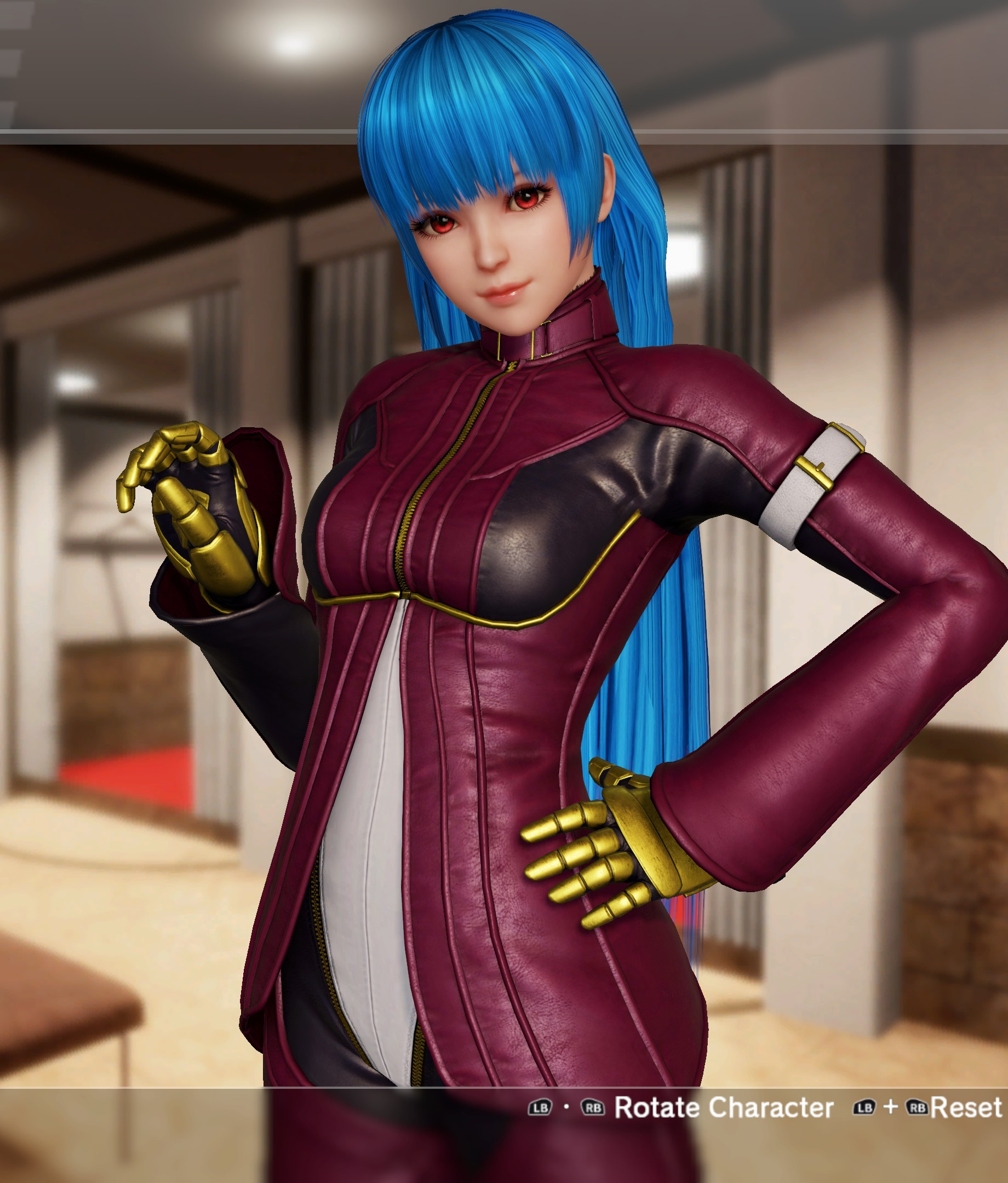 72adf4a9dd014 Costume 1 - Purple bodysuit. (Originally her first costume from The King of  Fighters XIV.