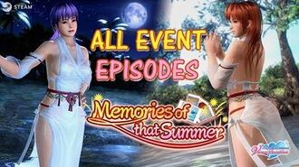 DOAXVV All event episodes of 'Memories of that summer' event (English)