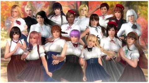 Dead or Alive 5 Last Round - High Society Costume Set-0