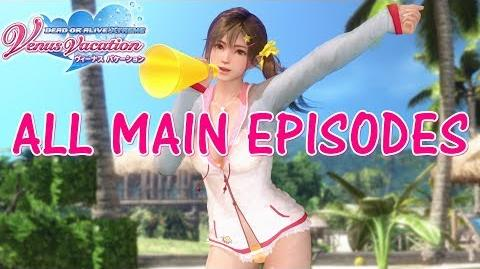 DEAD OR ALIVE XTREME VENUS VACATION All Main Episodes