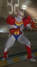 DOA5LR Tatsunoko Mashup Hayabusa Costume