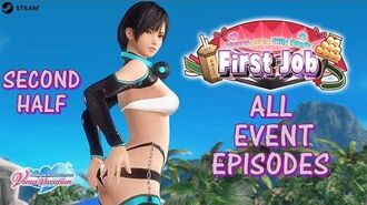 DOAXVV All event episodes of 'Venus and the silly dog's first job' event (English)