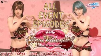 DOAXVV All event episodes of MeltyVenusValentine(except Tamaki,Fiona,Leifang and Nagisa)(English)