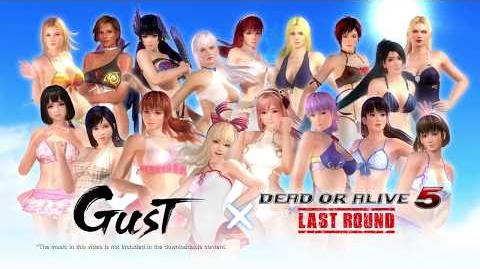 Dead or Alive 5 Last Round - Gust Mashup Swimwear Set