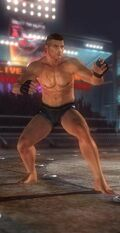 DOA5 Bayman Fighter Screen