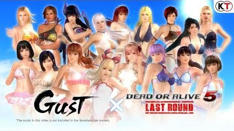 Dead or Alive 5 Last Round - Gust Mashup Swimwear Set-0