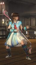 DOA5LR Samurai Warriors Costume Leifang