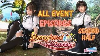 DOAXVV All event episodes of 'Memories of that summer' event -second half- (English)