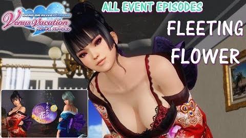 DOAXVV All event episodes of Fleeting Flower event