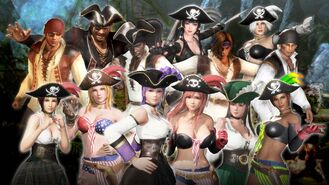 DOA6 Pirates 1