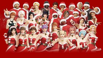 DOA6 Santa's Helper Costume Set