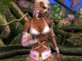 Lisa Hamilton/Dead or Alive Dimensions costumes